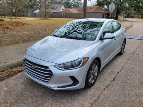 2018 Hyundai Elantra for sale at Amazon Autos in Houston TX