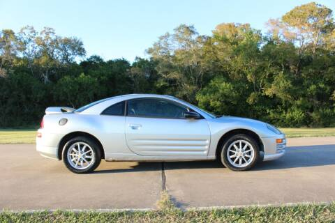 2001 Mitsubishi Eclipse for sale at Clear Lake Auto World in League City TX
