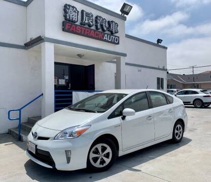 2014 Toyota Prius for sale at Fastrack Auto Inc in Rosemead CA