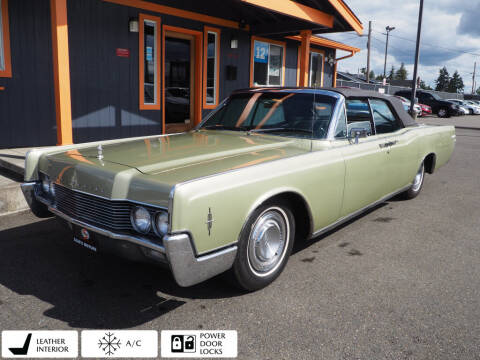 1966 Lincoln Continental for sale at Sabeti Motors in Tacoma WA