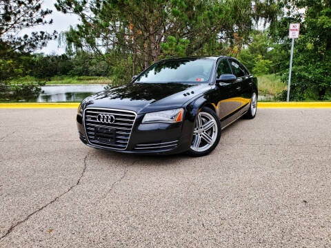2011 Audi A8 for sale at Excalibur Auto Sales in Palatine IL