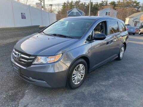 2014 Honda Odyssey for sale at Platinum Auto in Abington MA