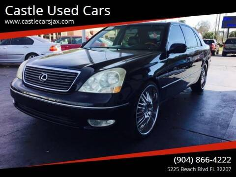 2001 Lexus LS 430 for sale at Castle Used Cars in Jacksonville FL