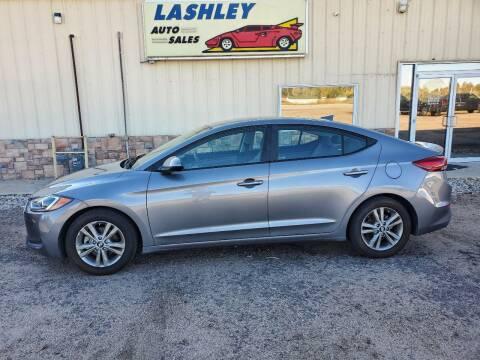 2018 Hyundai Elantra for sale at Lashley Auto Sales in Mitchell NE
