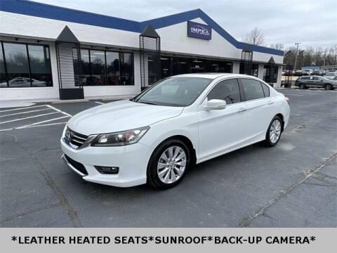 2015 Honda Accord for sale at Impex Auto Sales in Greensboro NC