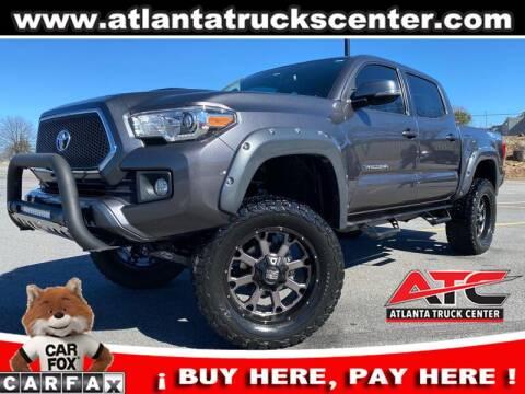 2017 Toyota Tacoma for sale at ATLANTA TRUCK CENTER LLC in Brookhaven GA