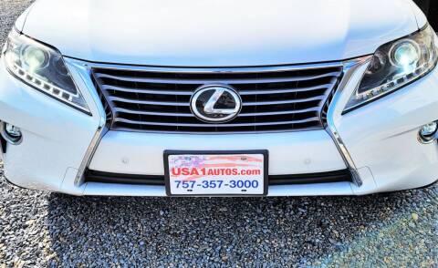 2015 Lexus RX 350 for sale at USA 1 Autos in Smithfield VA