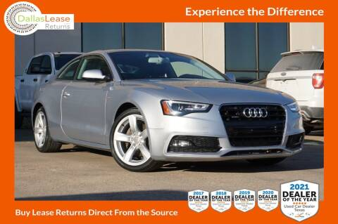2016 Audi A5 for sale at Dallas Auto Finance in Dallas TX
