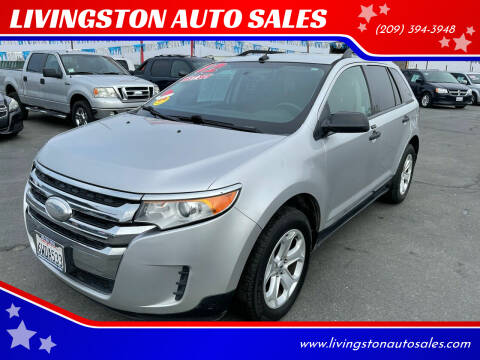 2012 Ford Edge for sale at LIVINGSTON AUTO SALES in Livingston CA