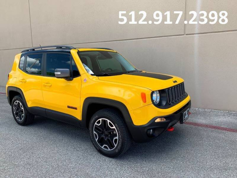 2015 Jeep Renegade for sale at Austin Elite Motors in Austin TX