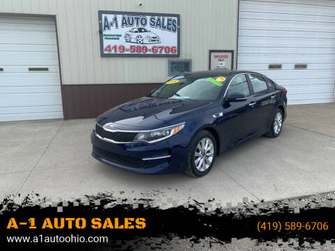 2018 Kia Optima for sale at A-1 AUTO SALES in Mansfield OH