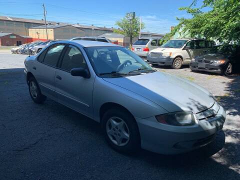 2003 Chevrolet Cavalier for sale at YASSE'S AUTO SALES in Steelton PA