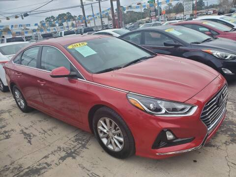 2018 Hyundai Sonata for sale at Abel Motors, Inc. in Conroe TX