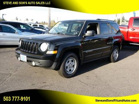 2012 Jeep Patriot for sale at Steve & Sons Auto Sales in Happy Valley OR