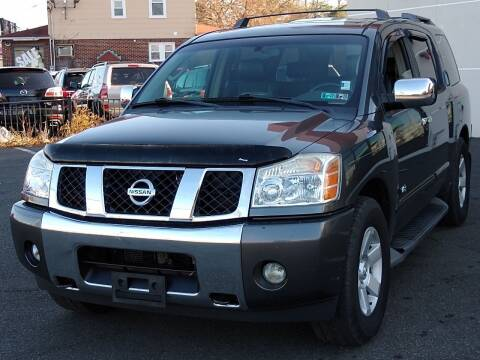 2005 Nissan Armada for sale at MAGIC AUTO SALES in Little Ferry NJ