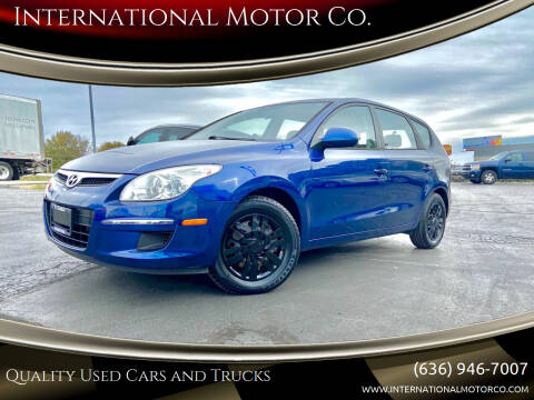 2012 Hyundai Elantra Touring for sale at International Motor Co. in St. Charles MO
