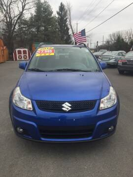 2012 Suzuki SX4 Crossover for sale at GREENPORT AUTO in Hudson NY