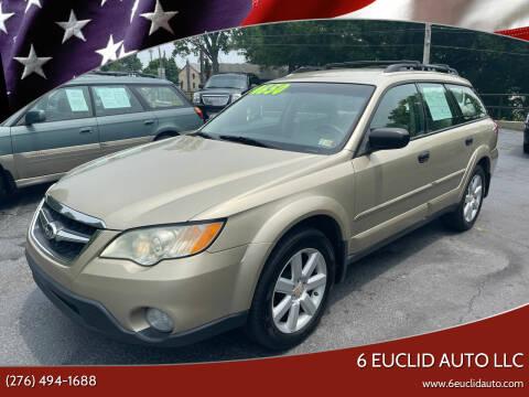 2008 Subaru Outback for sale at 6 Euclid Auto LLC in Bristol VA