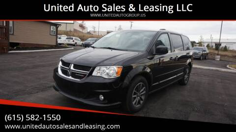 2017 Dodge Grand Caravan for sale at United Auto Sales & Leasing LLC in La Vergne TN