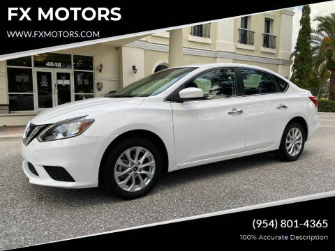 2019 Nissan Sentra for sale at FX MOTORS in Margate FL