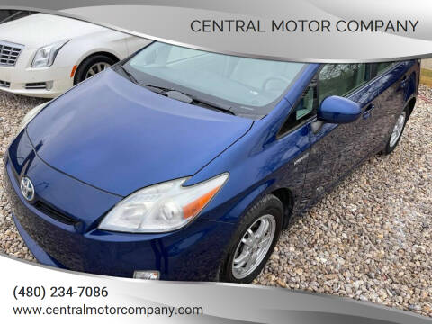 2010 Toyota Prius for sale at Central Motor Company in Austin TX
