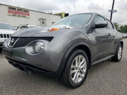 2012 Nissan JUKE for sale at MENNE AUTO SALES LLC in Hasbrouck Heights NJ