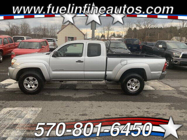 2006 Toyota Tacoma for sale at FUELIN FINE AUTO SALES INC in Saylorsburg PA