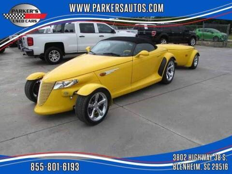 1999 Plymouth Prowler for sale at Parker's Used Cars in Blenheim SC