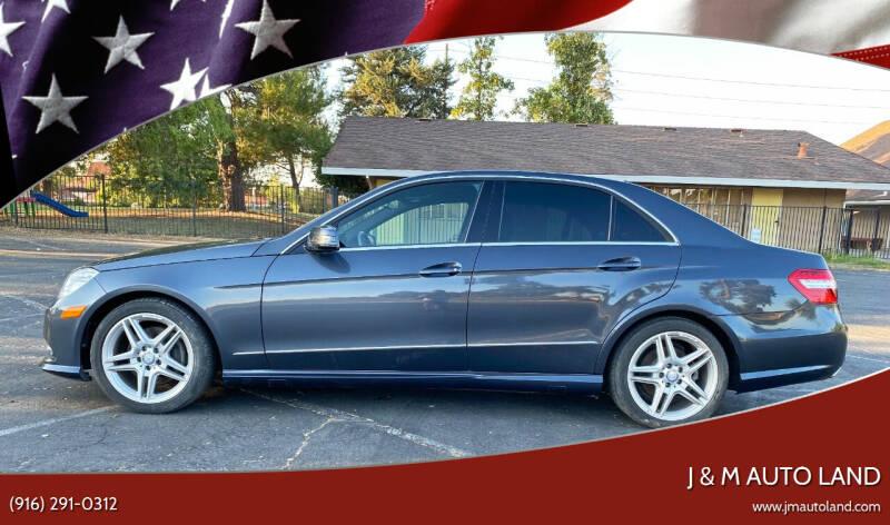 2013 Mercedes-Benz E-Class for sale at J & M Auto Land in Sacramento CA