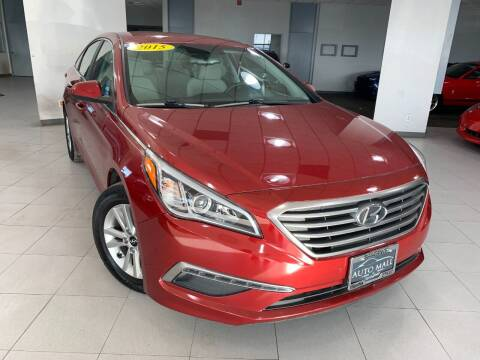 2015 Hyundai Sonata for sale at Auto Mall of Springfield in Springfield IL