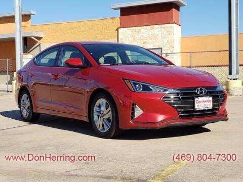 2019 Hyundai Elantra for sale at DON HERRING MITSUBISHI in Irving TX