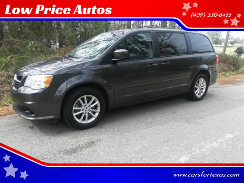 2015 Dodge Grand Caravan for sale at Low Price Autos in Beaumont TX