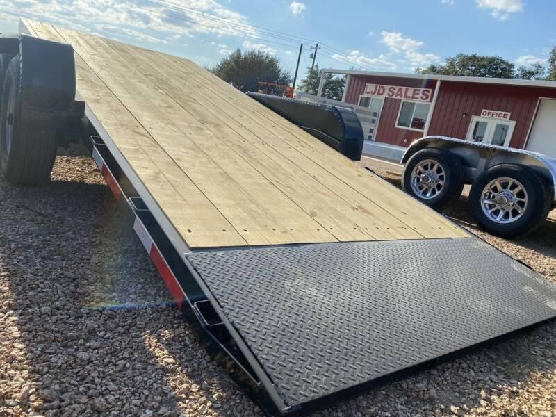 2021 TEXAS PRIDE  - TILT 21' = 17+4 - 14K GVWR for sale at LJD Sales in Lampasas TX