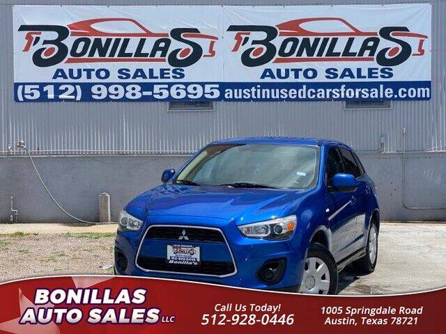 2015 Mitsubishi Outlander Sport for sale at Bonillas Auto Sales in Austin TX