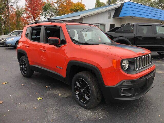2017 Jeep Renegade for sale at BATTENKILL MOTORS in Greenwich NY