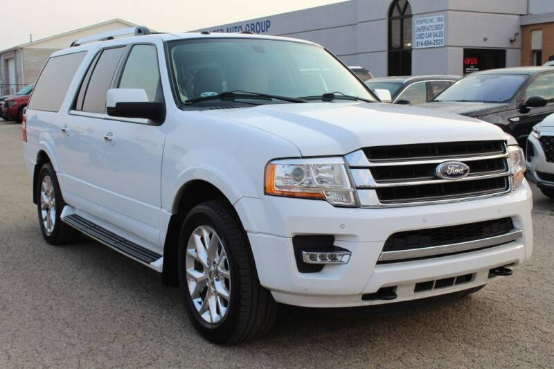 2017 Ford Expedition EL for sale at SHAFER AUTO GROUP in Columbus OH
