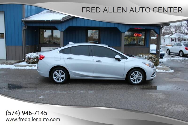 2016 Chevrolet Cruze for sale at Fred Allen Auto Center in Winamac IN