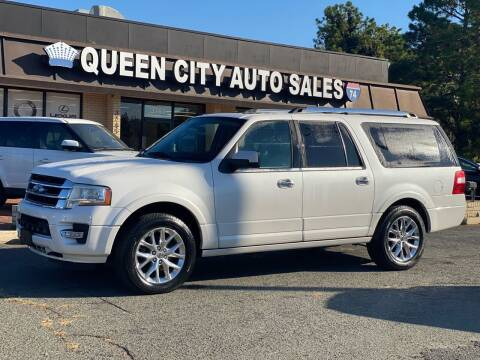2015 Ford Expedition EL for sale at Queen City Auto Sales in Charlotte NC