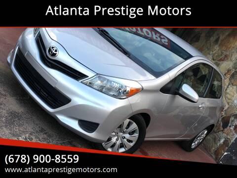 2012 Toyota Yaris for sale at Atlanta Prestige Motors in Decatur GA
