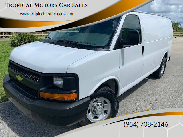2015 Chevrolet Express Cargo for sale at Tropical Motors Car Sales in Deerfield Beach FL