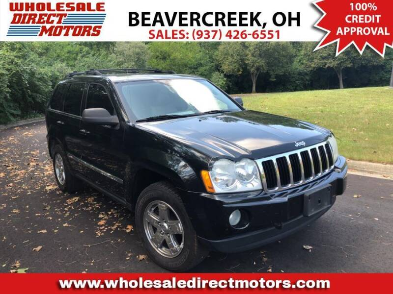 2005 Jeep Grand Cherokee for sale at WHOLESALE DIRECT MOTORS in Beavercreek OH