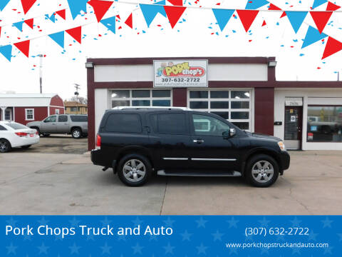 2011 Nissan Armada for sale at Pork Chops Truck and Auto in Cheyenne WY