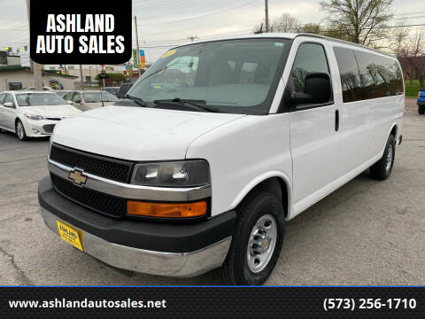 2015 Chevrolet Express Passenger for sale at ASHLAND AUTO SALES in Columbia MO