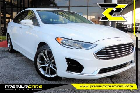 2019 Ford Fusion for sale at Premium Cars of Miami in Miami FL