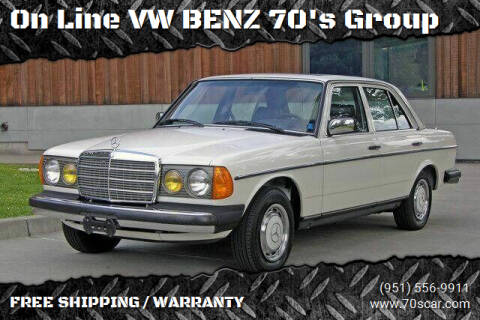 1983 Mercedes-Benz 240-Class for sale at OnLine VW-BENZ.COM Auto Group in Riverside CA