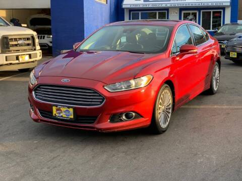 2013 Ford Fusion for sale at AGM AUTO SALES in Malden MA
