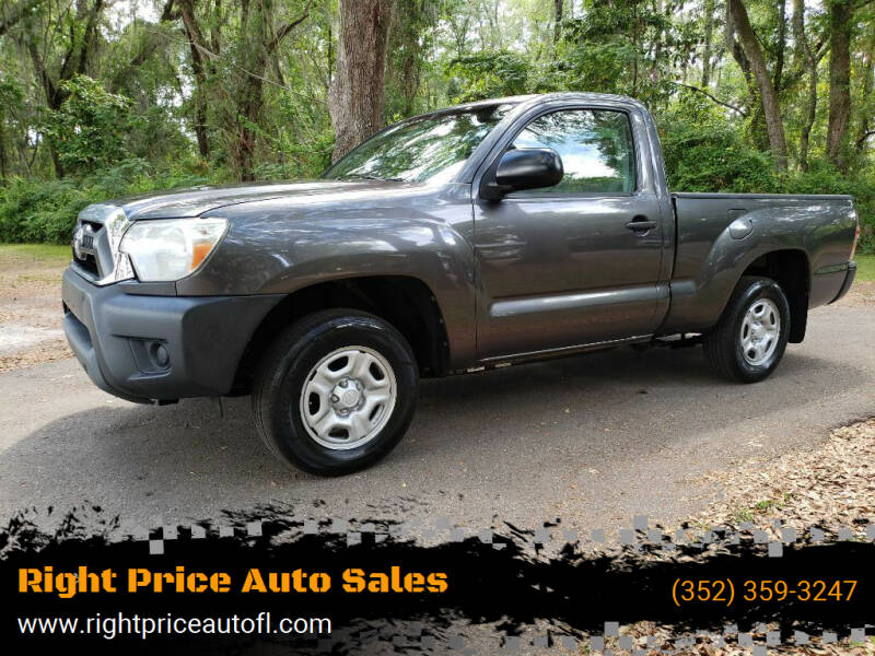 2013 Toyota Tacoma for sale at Right Price Auto Sales-Gainesville in Gainesville FL