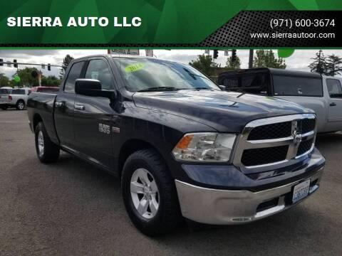 2014 RAM Ram Pickup 1500 for sale at SIERRA AUTO LLC in Salem OR