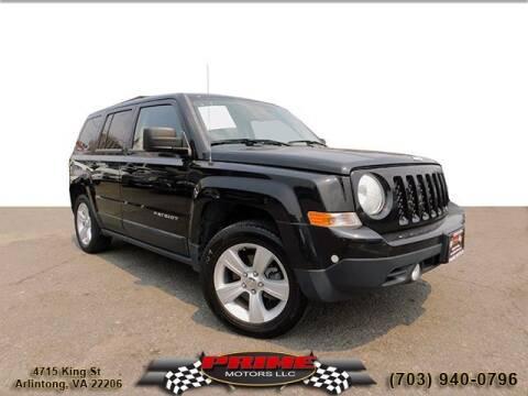 2014 Jeep Patriot for sale at PRIME MOTORS LLC in Arlington VA