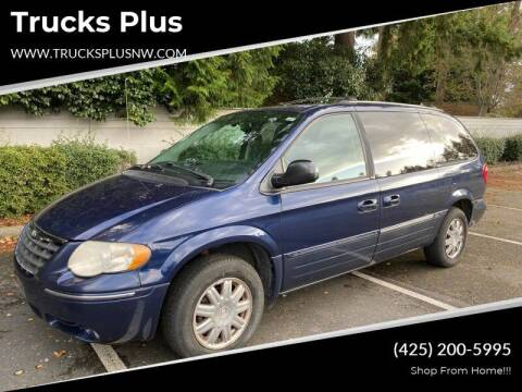 2006 Chrysler Town and Country for sale at Trucks Plus in Seattle WA
